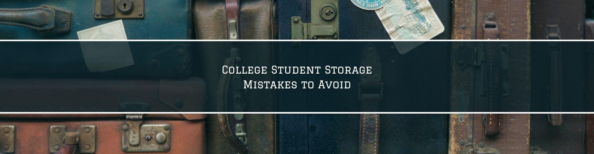 college student storage